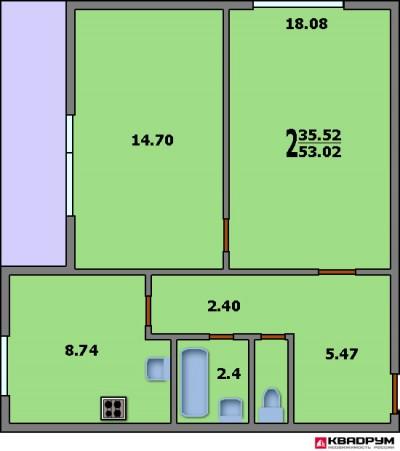 Перепланировка квартир 75 серии