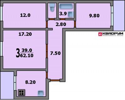 Планировка домов серии п 30 планировка